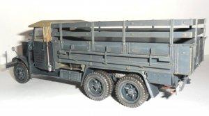 Krupp L3H163, WWII German Army Truck   (Vista 4)