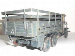 Krupp L3H163, WWII German Army Truck   (Vista 5)