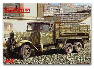 Henschel 33D1 German Army Truck  (Vista 1)