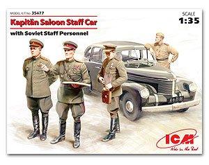 Kapitan Saloon Staff Car with Soviet Sta  (Vista 1)