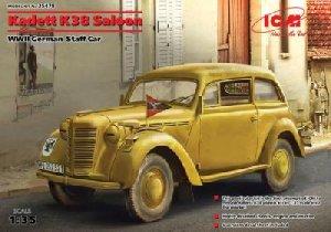 Kadett K38 Saloon, WWII German Staff Car  (Vista 1)