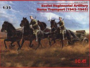 Regimental Soviet Artillery Horse Transp  (Vista 1)