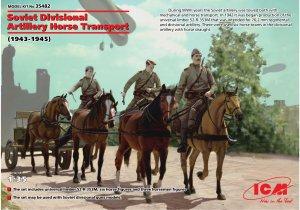 Soviet Divisional Artillery Horse Transp  (Vista 1)