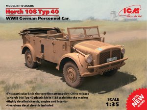 Horch 108 Typ 40, WWII German Personnel