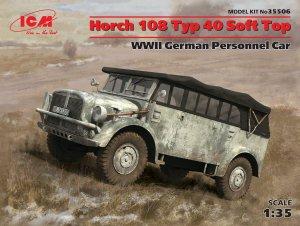 Horch 108 Typ 40 Soft Top, WWII German P  (Vista 1)