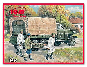 Studebaker US6 with Soviet Medical Perso  (Vista 1)