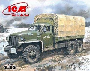 Studebaker US6 U4 WWII Army Truck  (Vista 1)
