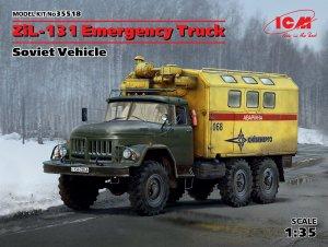 Emergency Truck, Soviet Vehicle  (Vista 1)