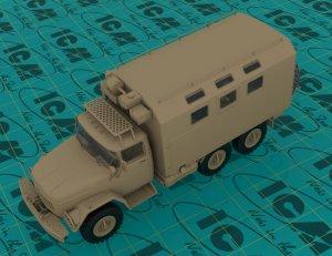 Emergency Truck, Soviet Vehicle  (Vista 3)
