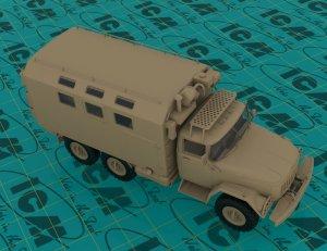 Emergency Truck, Soviet Vehicle  (Vista 4)