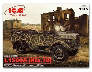 L1500A (Kfz.70), WWII German Personnel C  (Vista 1)