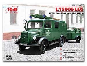 L1500S LLG, WWII German Light Fire Truck  (Vista 1)