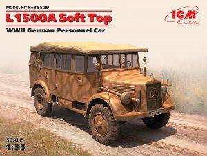 L1500A Soft Top, WWII German Personnel C  (Vista 1)