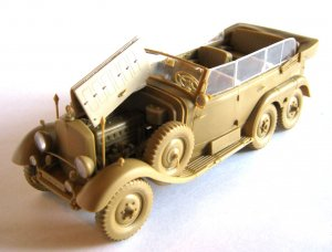 G4 1939 Production, German Car W/Passeng  (Vista 4)