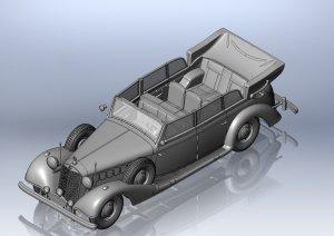 Daimler-Benz Type 770K (W150) Tourenwage  (Vista 2)