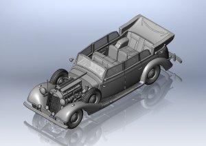 Daimler-Benz Type 770K (W150) Tourenwage  (Vista 3)