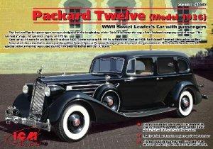 Packard Twelve (Model 1936), WWII Soviet  (Vista 1)