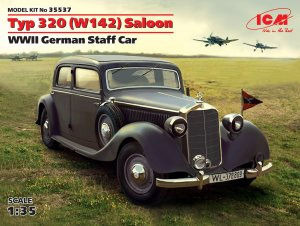 Typ 320 (W142) Saloon, WWII German Staff  (Vista 1)