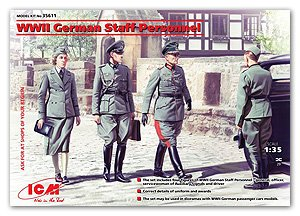 Personal de mando ejército alemán 2ªG.M.  (Vista 1)