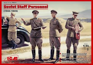 Personal de mando ruso 1943/1945  (Vista 1)