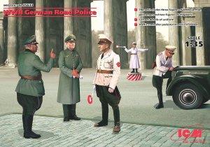 Policía de tráfico alemana 2ªGM  (Vista 1)