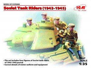 Infantería rusa sobre carro 1943-1945  (Vista 1)