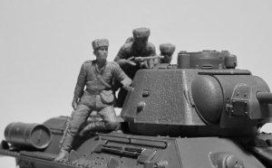 Infantería rusa sobre carro 1943-1945  (Vista 3)