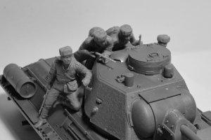 Infantería rusa sobre carro 1943-1945  (Vista 4)