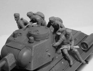 Infantería rusa sobre carro 1943-1945  (Vista 5)