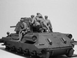Infantería rusa sobre carro 1943-1945  (Vista 6)