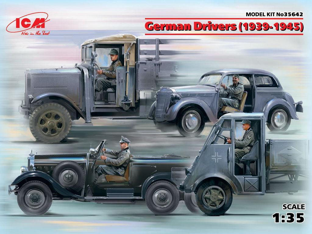 Conductores Alemanes 1939-1945 - Ref.: ICMM-35642