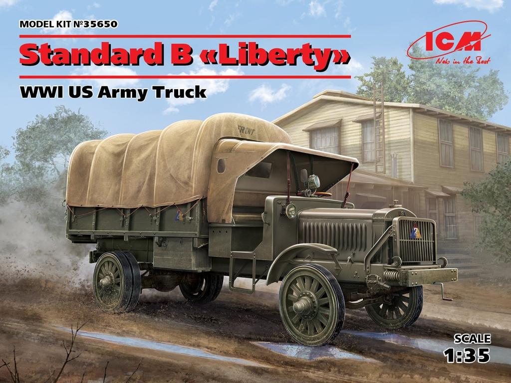Standard B Liberty US Army Truck  (Vista 1)