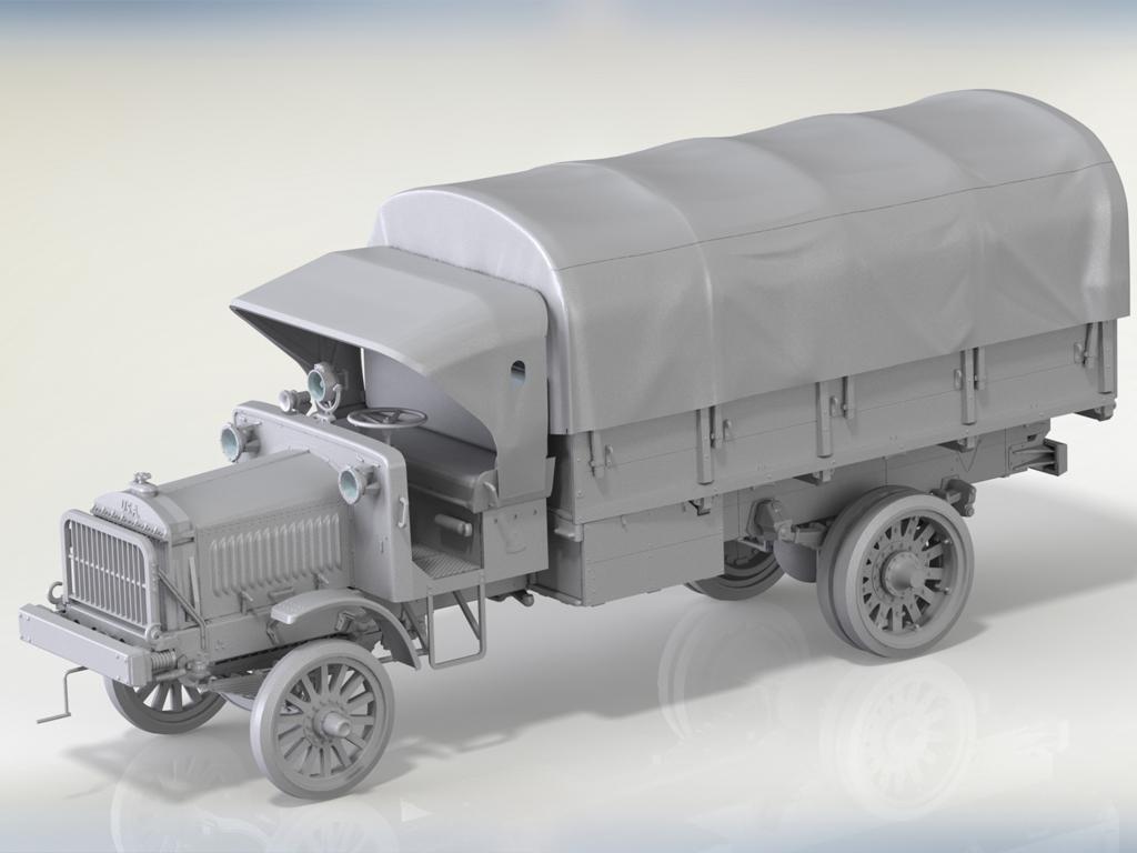 Standard B Liberty US Army Truck  (Vista 2)