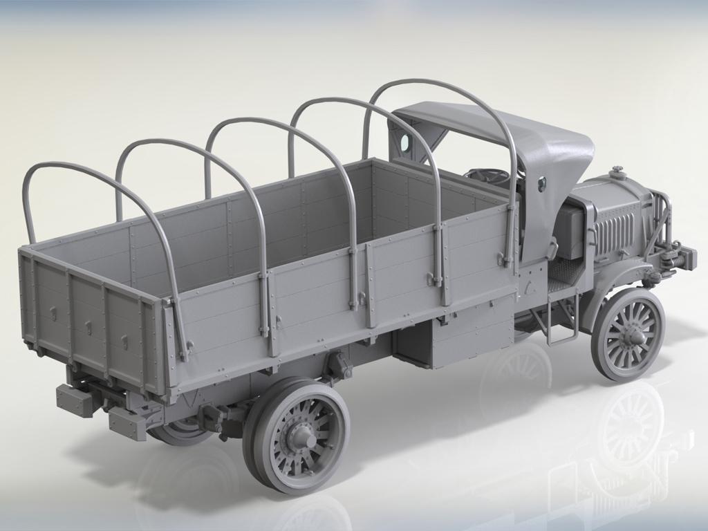 Standard B Liberty US Army Truck  (Vista 3)