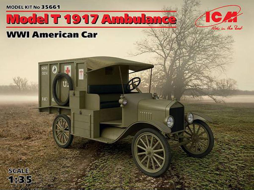 Model T 1917 Ambulance, WWI American  (Vista 1)