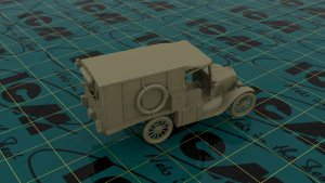 Model T 1917 Ambulance, WWI American  (Vista 3)