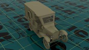 Model T 1917 Ambulance, WWI American  (Vista 4)