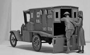 Model T 1917 Ambulance with US Medical P  (Vista 3)