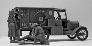 Model T 1917 Ambulance with US Medical P  (Vista 4)