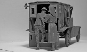 Model T 1917 Ambulance with US Medical P  (Vista 5)