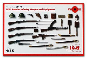 Russian Infantry Weapon and Equipment WW  (Vista 1)
