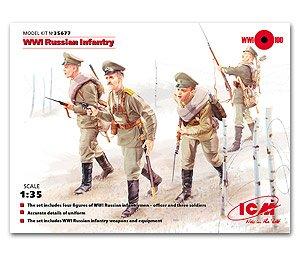 Infanteria Sovietica WWI  (Vista 1)