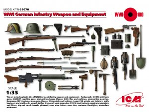 German Infantry Weapon and Equipment  (Vista 1)