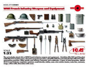 WWI French Infantry Weapon and Equipment  (Vista 1)