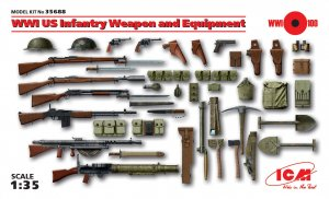 WWI US Infantry Weapon and Equipment  (Vista 1)