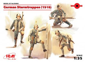 German Sturmtruppen 1918 - Ref.: ICMM-35692