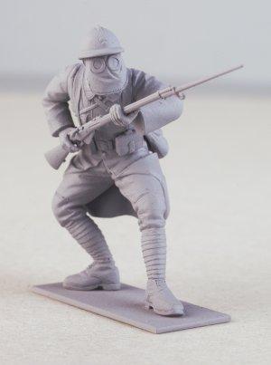 French Infantry in Gas Masks 1916  (Vista 3)