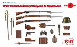 Armas y equipo para infantería Turca 1ªG  (Vista 1)