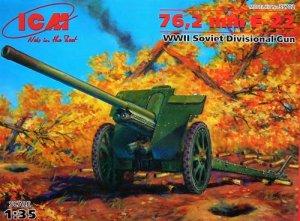 F-22 Soviet 76,2mm divisional gun  (Vista 1)