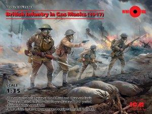 British Infantry in Gas Masks  (Vista 1)